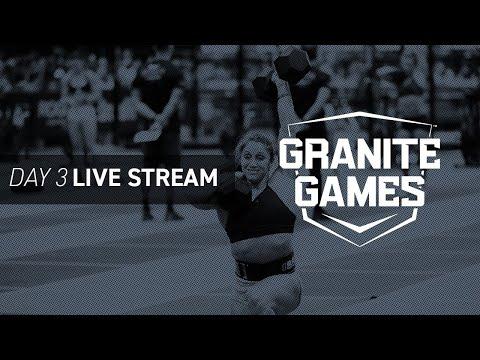Watch Granite Games Day 3—CrossFit Semifinals