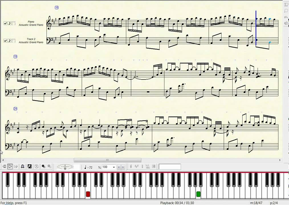 All Music Chords sheet music for river flows in you : Yiruma - River Flows in You - music notation by herupa_capu - YouTube