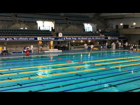 Southampton University (Maria Veale) in 100m Rescue Medley
