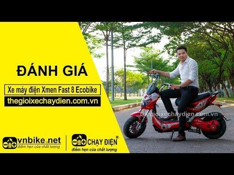 Đánh giá xe máy điện Xmen Fast 8 Ecobike