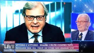 Vittorio Feltri E Vittorio Sgarbi Da Non è La D'urso (integrale)