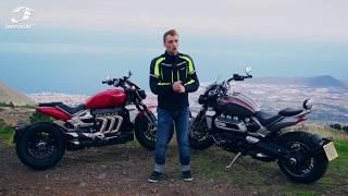 Triumph Rocket 3 R oraz Rocket 3 GT 2020: Największym motocyklem po Teneryfie