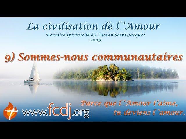 9) Sommes-nous communautaires (HOREB) 9 de 11