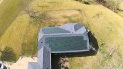 Dow Powerhouse Solar Shingles 8 kw system in Wharton,Texas