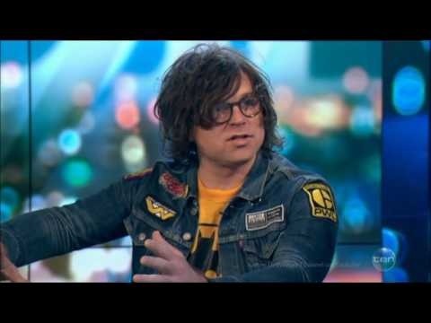 "Ryan Adams ""Nothing but Cats"" LIVE Australian Tv Interview May 25 2017"
