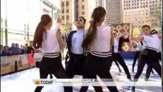 "PSY ""Gentleman"" live on NBC's 'Today Show' New York City"