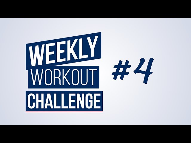 Weekly Workout Challenge #4 | Renaud Center