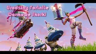 Fortnite Pierwsze Urodziny + Darmowe Skorki WAZNE DO 07/08/18 #NAŻYWO