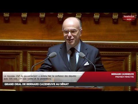 Le grand oral de Bernard Cazeneuve devant les Sénateurs - Les matins du Sénat (15/12/2016)