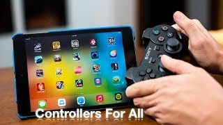 iOS 7 Jailbreak Tweaks: Controllers For All - Play Games With A PS3 Controller For iPhone & iPad