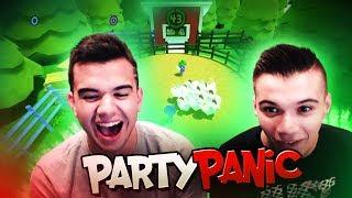 MINIJUEGOS VS MI HERMANO! | PARTY PANIC