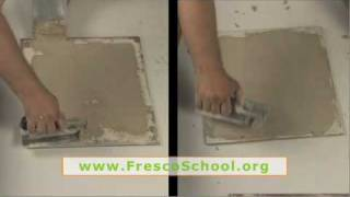 Materials and Tools for Fresco Plastering