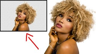 How to remove background in Photoshop CC 2017 Urdu/Hindi