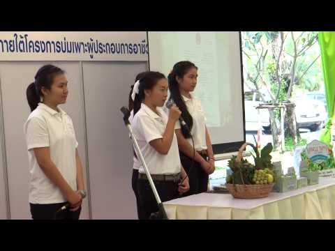 56-12-23-การนำเสนอแผนธุรกิจ ทีมวิทยาลัยอาชีวศึกษาลำปาง ชนะเลิศปี2556