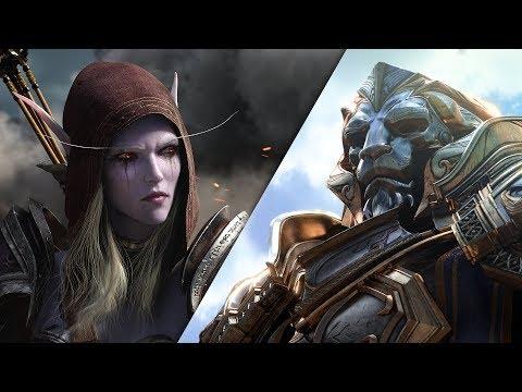 Tráiler cinemático de World of Warcraft: Battle for Azeroth