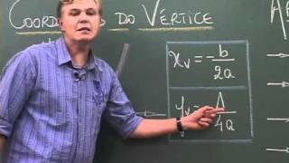 Função Quadrática - aula 5 - Coordenadas do vértice