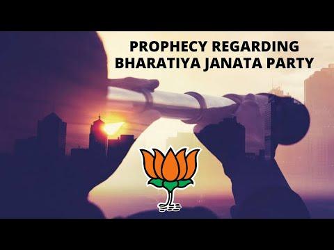 Prophecy Regarding Bharatiya Janata Party By Evans Francis