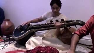MANIKKA VEENAI ENTHUM - Veena by Meera sharma - Instrumental - HD