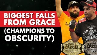10 Biggest Falls From Grace (Champions to Obscurity)