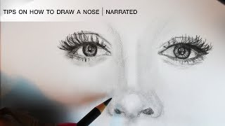 How to Draw - A Nose | Tips on Drawing