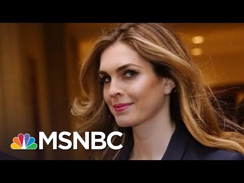 'Javanka' Faction Falling Apart As Hope Hicks, Others Quit W.H.   Rachel Maddow   MSNBC