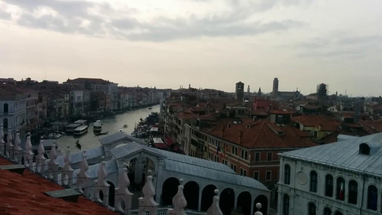 Venezia Dall Alto Dal Fondaco Dei Tedeschi