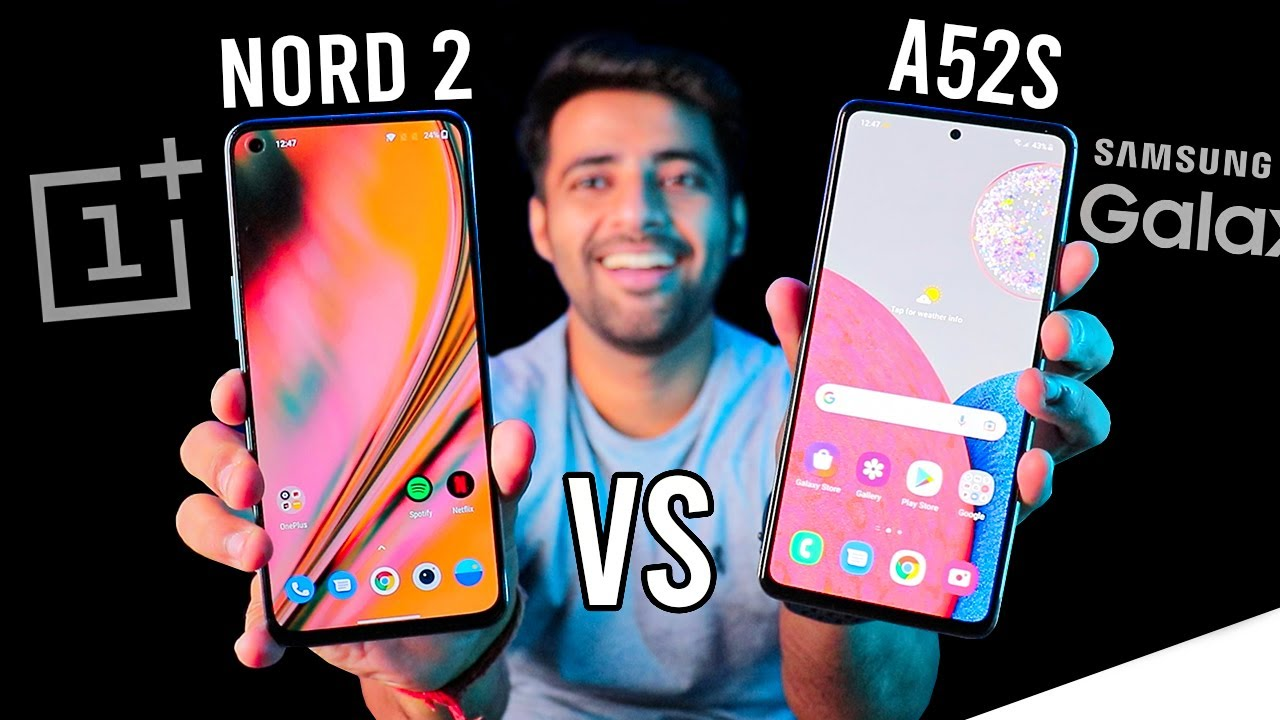 Samsung A52s vs Oneplus Nord 2