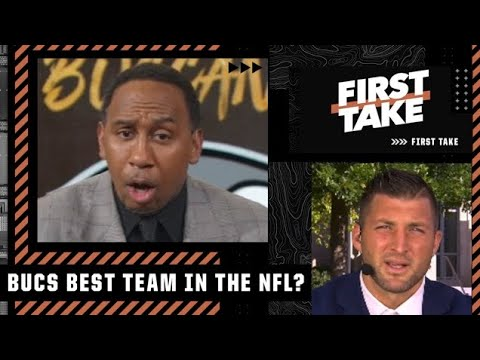 Download Stephen A. and Tim Tebow disagree about the Bucs being the best team in the NFL | First Take