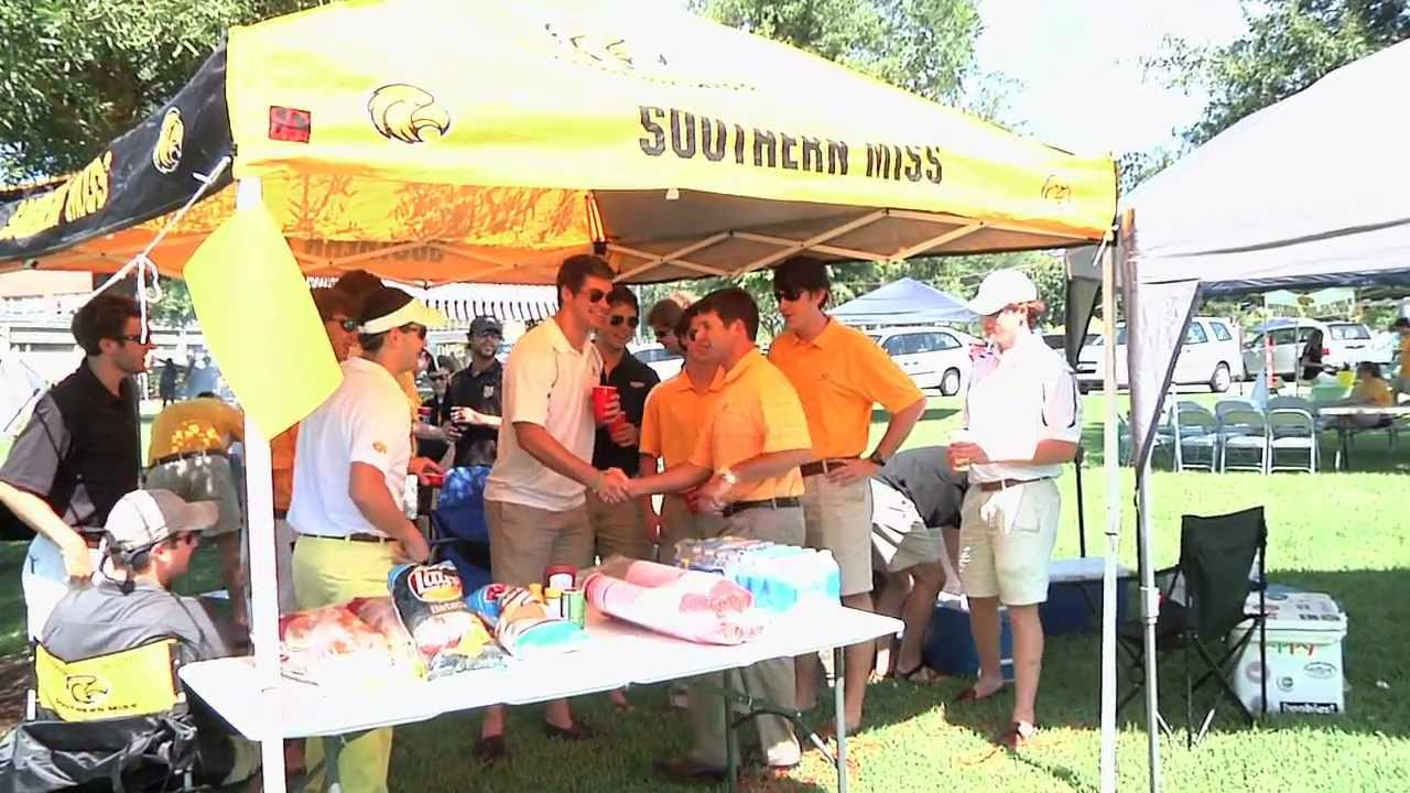 Southern Miss Traditions - Tailgating in The District & Southern Miss Traditions - Tailgating in The District - YouTube