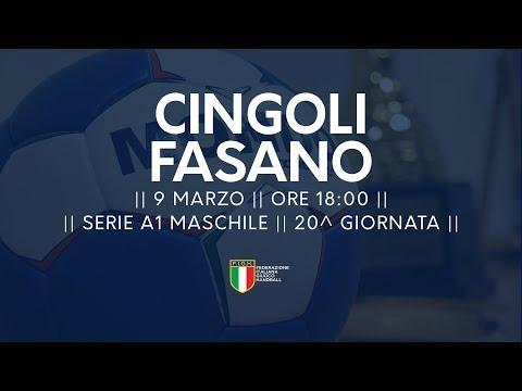 Serie A1M [20^]: Cingoli - Fasano 26-28