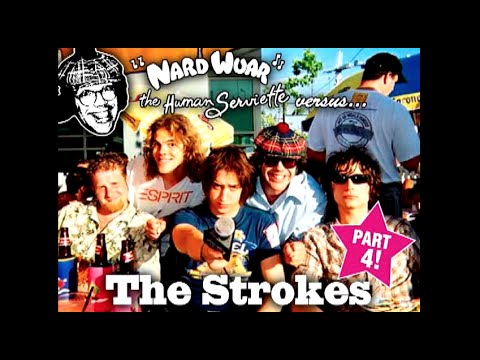 Nardwuar vs. The Strokes pt 1 of 4