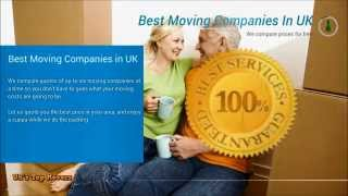 Removal Quotes - Best Moving Companies London UK