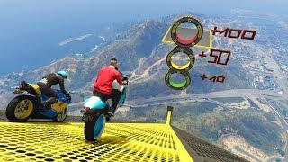 99% IMPOSIBLE!! 100 PUNTOS!!! - CARRERA GTA V ONLINE - GTA 5 ONLINE