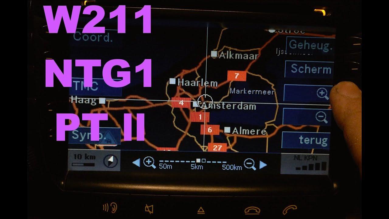 Mercedes W211 NTG1 ECE Command Serviceupdate part 2