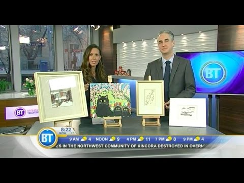 Rob Cowley Chats with BT Calgary About Art Valuation (March 8th, 2016)