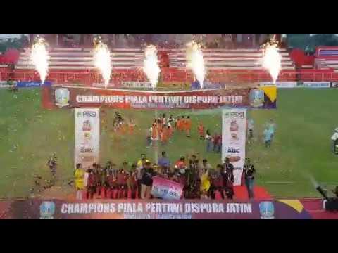 Club Candra Kirana Kediri Juara I Piala Pertiwi Dispora Jatim Cup 2018