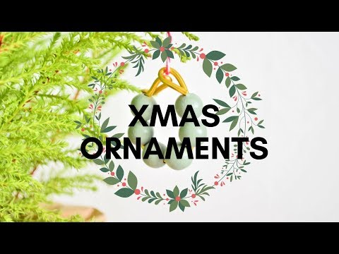 Świąteczne Dekoracje na Choinkę   Christmas Ornaments DIY