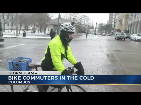 Winter cycling tips for commuters braving cold and ice