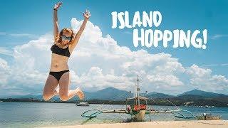 Philippines ISLAND HOPPING ADVENTURE! (Puerto Princesa, Palawan)