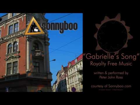SONNYBOO's Royalty Free Music - Gabrielle's Song (smooth jazz) by Peter John Ross