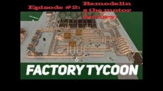 Unsere Motor-Fabrik bekommt eine Überholung!! | Roblox Factory Town Tycoon #2!! VZ. EVMANCOOL VIDS!