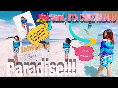 VLOG#1 LITTLE MALDIVES OF ZAMBOANGA FT. PINK SAND STA CRUZ ISLAND ADVENTURE! (PHILIPPINES)