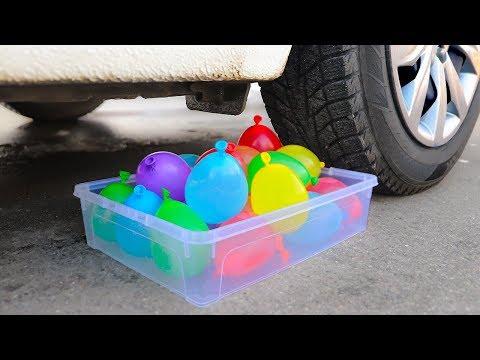 Download Crushing Crunchy & Soft Things by Car! Car vs Balloons Mp4 baru