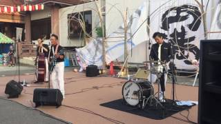20160731に本光寺でのライブです.