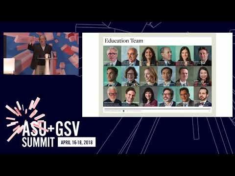 ASU GSV Summit: One World: The Making of a Modern, Global School