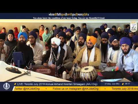 073 Toronto July 2018 - Friday Morning - Bhai Sarabpreet Singh Jee Montreal