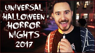 HALLOWEEN HORROR NIGHTS at Universal 2017