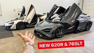 TRADING MY MCLAREN P1 HYPERCAR FOR 2 NEW SUPERCARS?! 620R & 765LT
