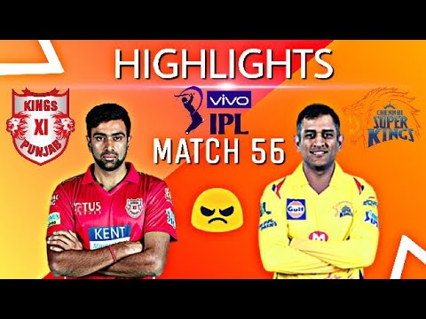Highlights, IPL 2018, CSK vs KXIP at Pune | Chennai beat Punjab by 5 wickets | match 56