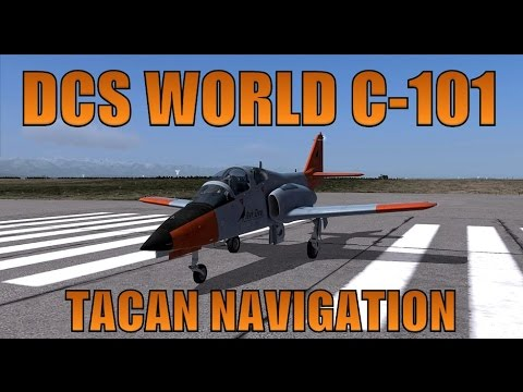 DCS World C-101 TACAN Navigation